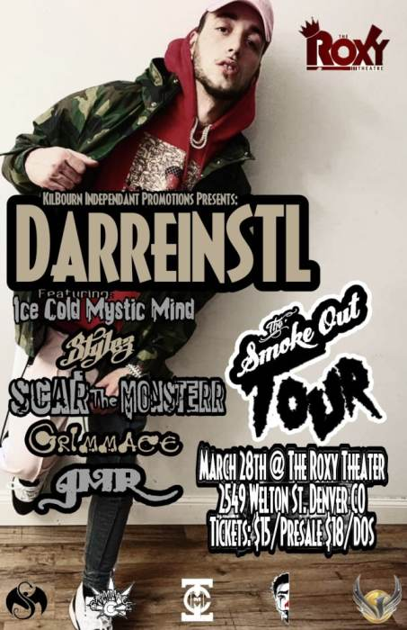Darrein Safron Smoke Out Tour