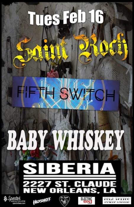 Baby Whiskey   Saint Roch   Fifth Switch