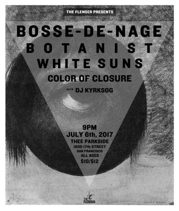 Boss-de-Nage, Botanist, White Suns, Color of Closure