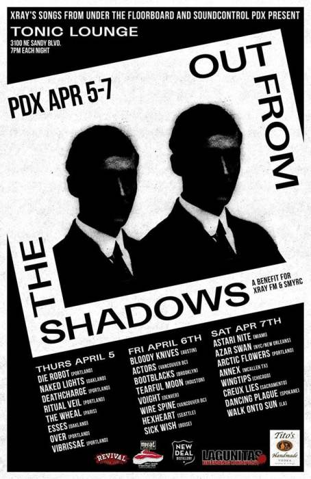 Out From The Shadows IV - Weekend Pass