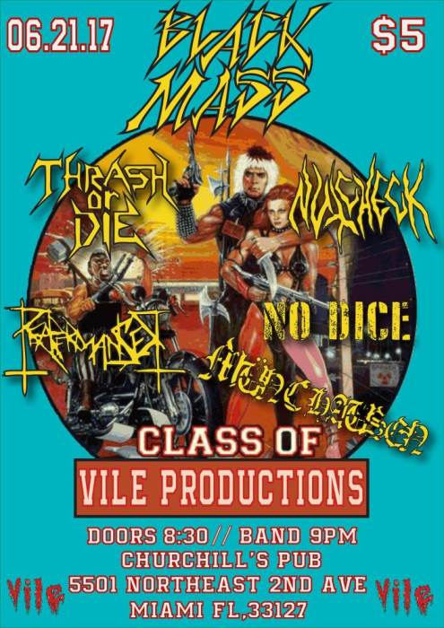Vile Productions Presents: Black Mass Round III