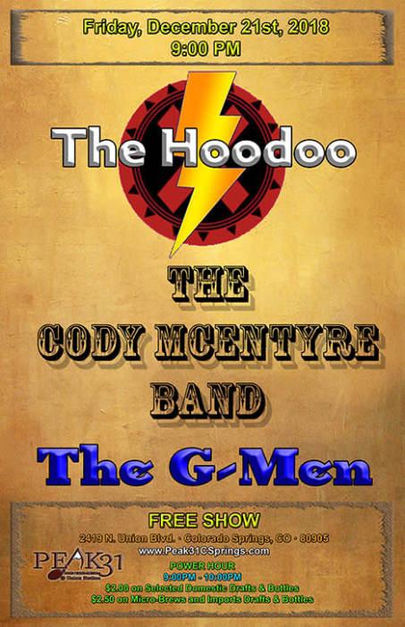 The Hoodoo / Cody McEntyre Band