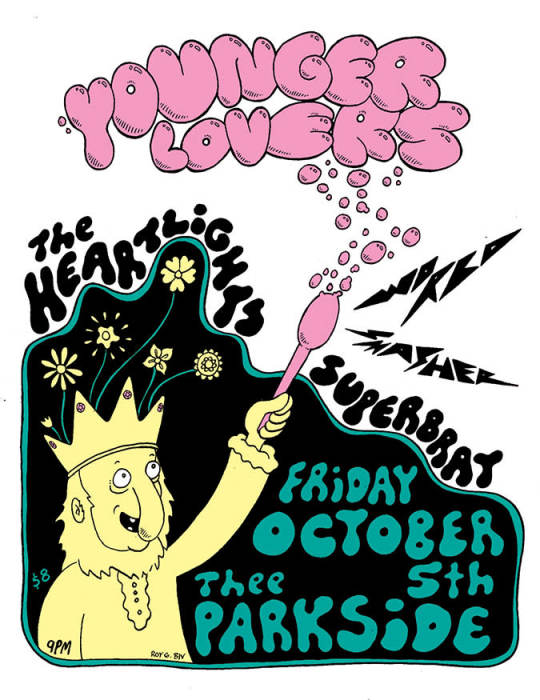 Younger Lovers, The Heartlights, Superbrat
