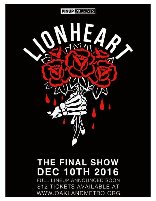 """The Final Lionheart Show"""