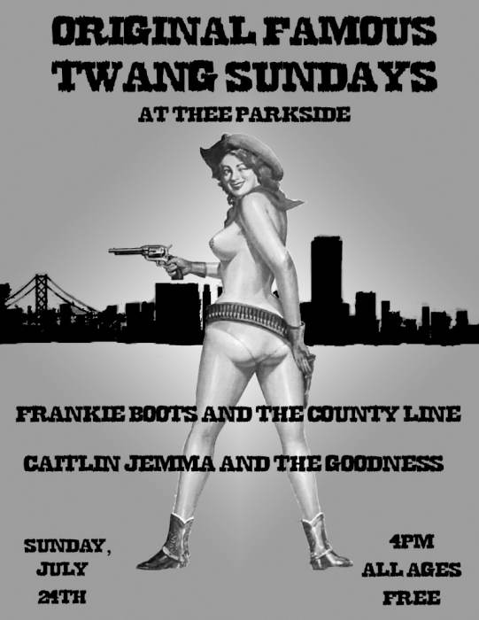 Frankie Boots & The County Line, Caitlin Jemma & The Goodness