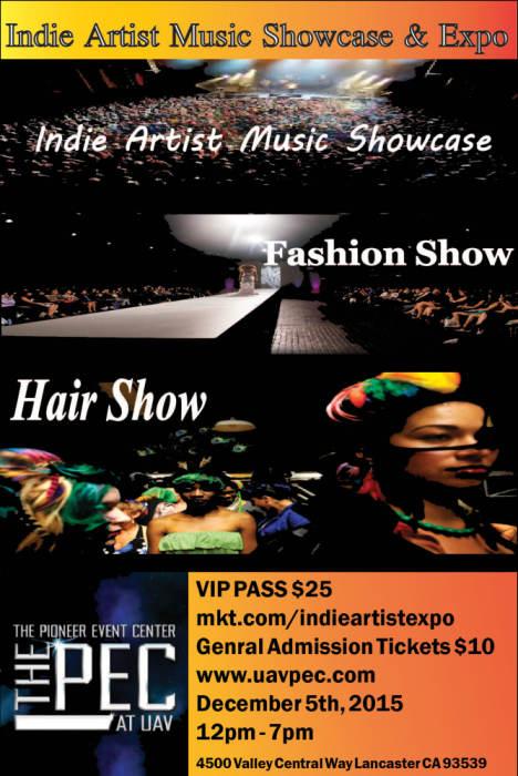 Indie Artist Music Showcase & Expo