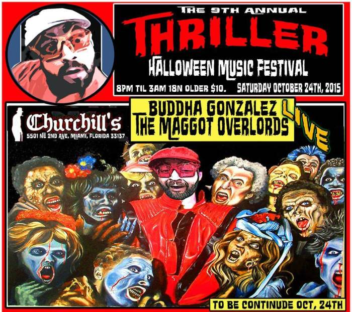 Thriller Halloween Music Festival • Churchill