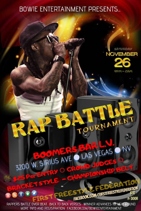 MC of 2016 Rap Tournament (First Freestyle Federation)