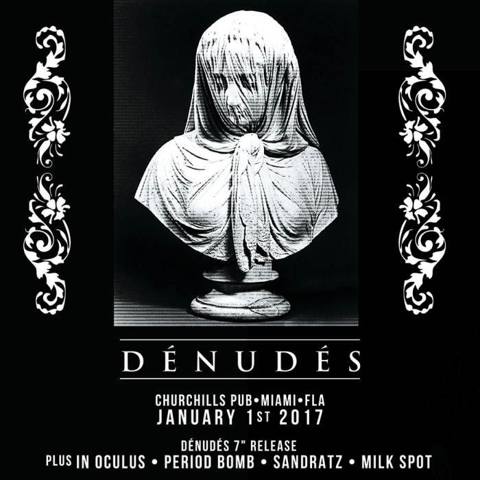 "Denudes 7"" Release Party with In Oculus, Period Bomb, Sandratz, & Milkspot!"