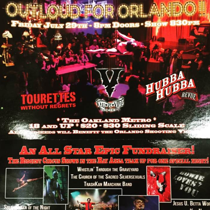 OUT LOUD FOR ORLANDO