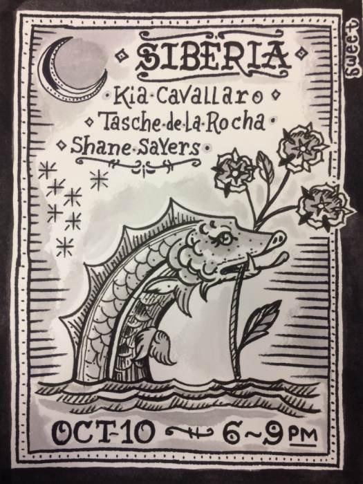 TASCHE DE LA ROCHE | SHANE SAYERS | KIA CAVALLARO