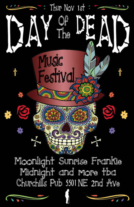 Day of the Dead Fest featuring Moonlight Sunrise & Frankie Midnight