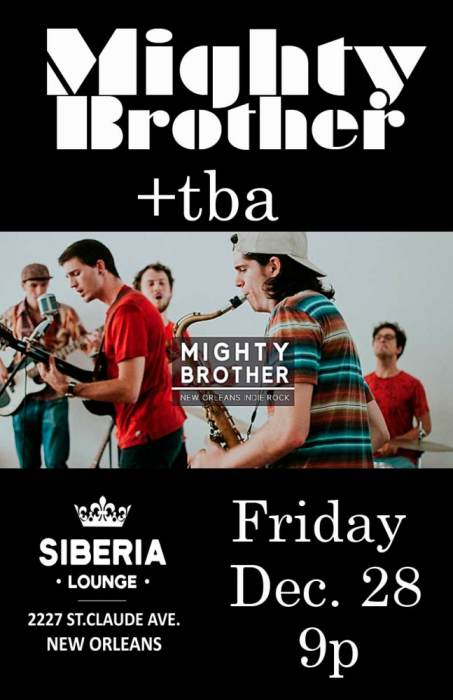 Mighty Brother plus tba