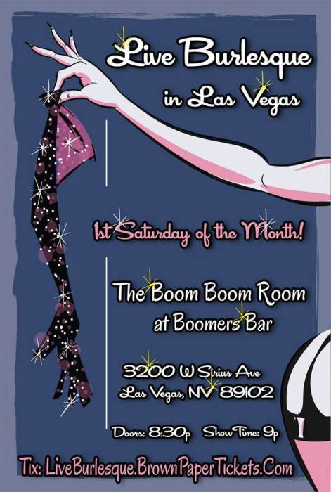 Live Burlesque in Las Vegas