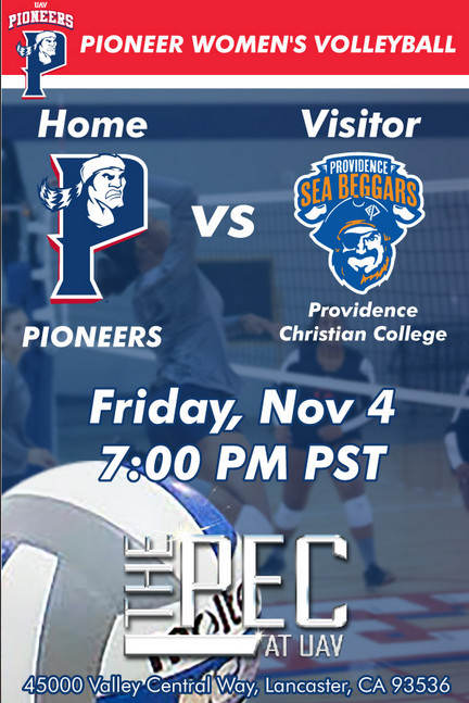 UNIVERSITY OF ANTELOPE VALLEY vs PROVIDENCE CHRISTIAN