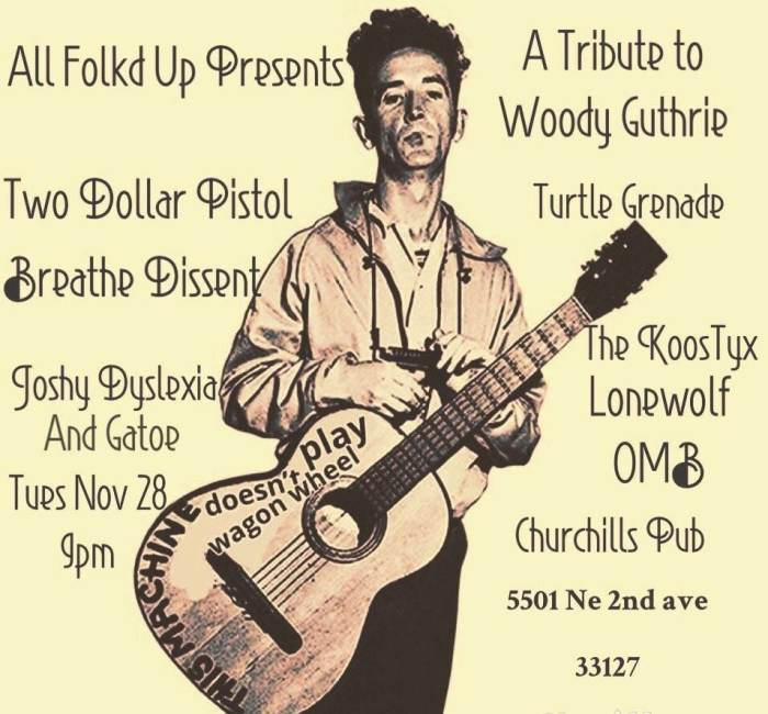 All Folkd Up Presents:A Tribute to Woody Guthrie