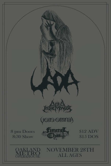 Uada, Dead in the Manger, Void Omnia, Funeral Chant