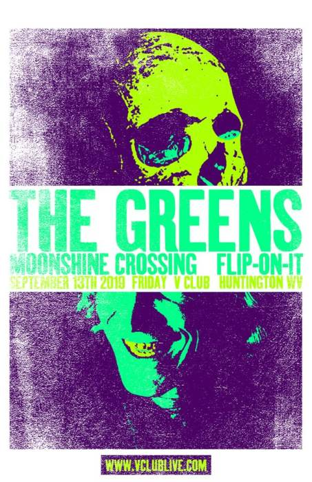 The Greens / Moonshine Crossing / Flip-on-it