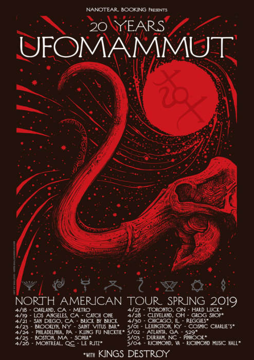 UFOmammut with Owl