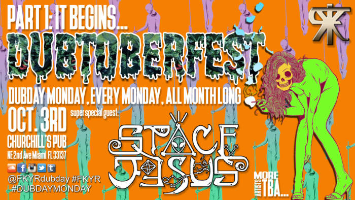 Dubtoberfest presents SPACE JESUS!