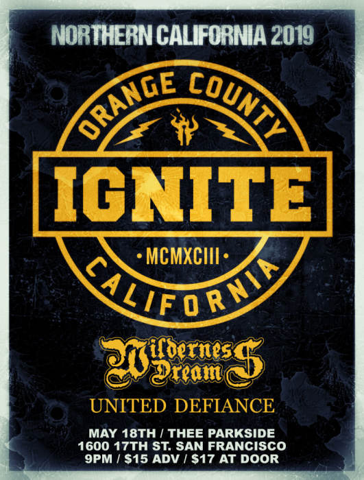 Ignite, Wilderness Dream, United Defiance