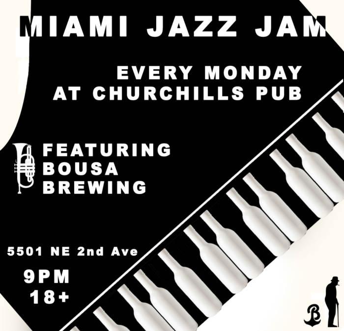 Miami Jazz Jam with the Fernando Ulibarri Group & on the patio it