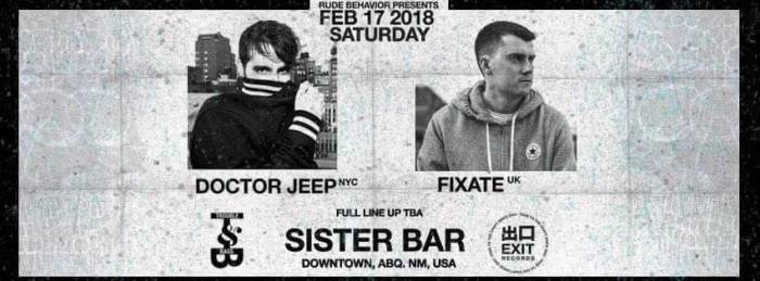 Doctor Jeep & Fixate at Sister