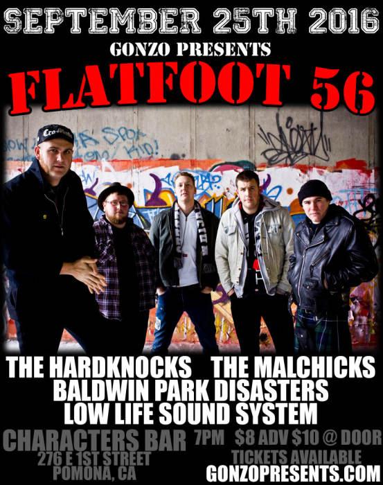 FLATFOOT 56 returns to Pomona