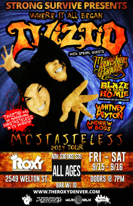 Twiztid Mostasteless Tour