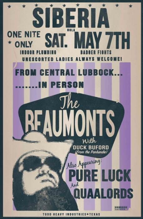 The Beaumonts | Pure Luck | The Quaalords