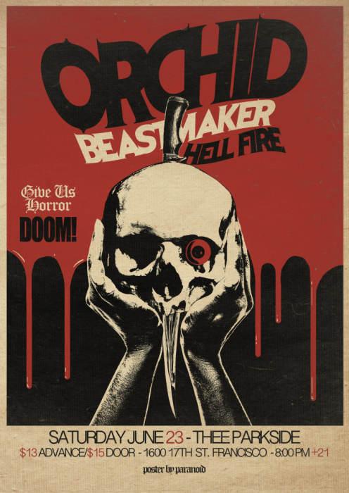 Orchid, Beastmaker, Hell Fire