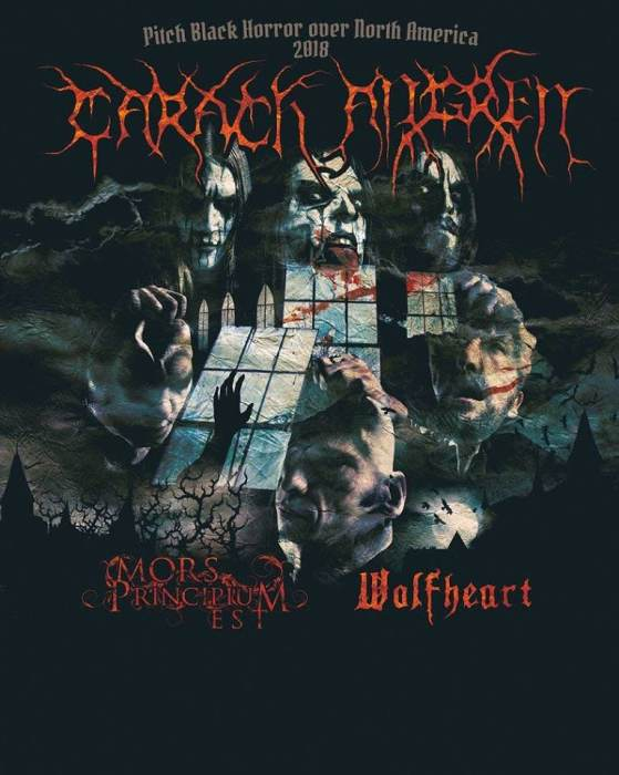 Carach Angren, Mors Principium Est, Wolfheart, Empyrean Throne