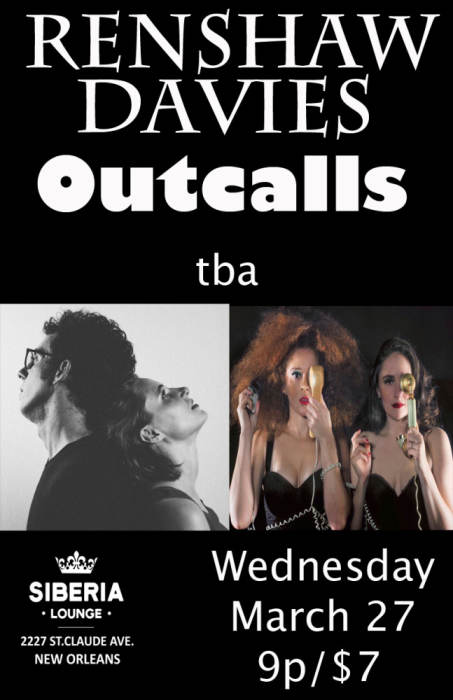 Renshaw Davies // Outcalls (Baltimore)// Juno Dunes