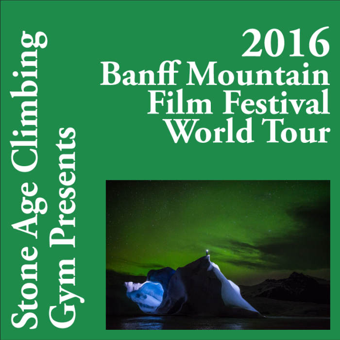 Banff Mtn Film Festival World Tour Day 1 March 9, 2016