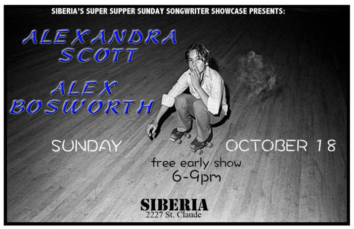 ALEXANDRA SCOTT | ALEX BOSWORTH