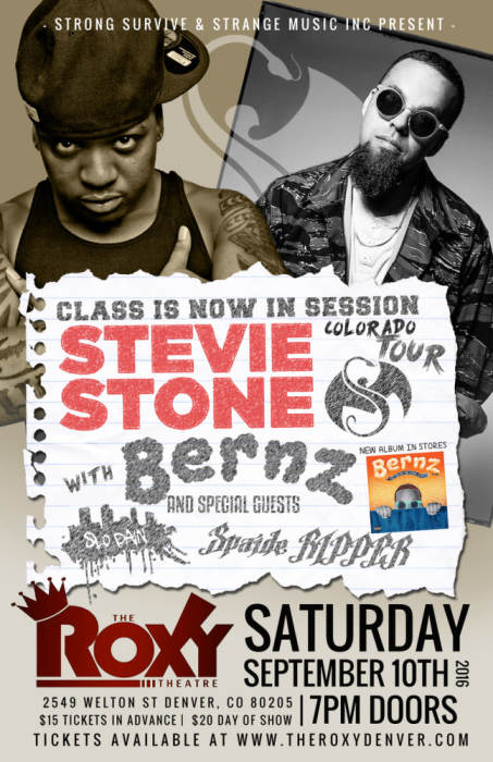 Class Is In Session Ft. Stevie Stone & Bernz
