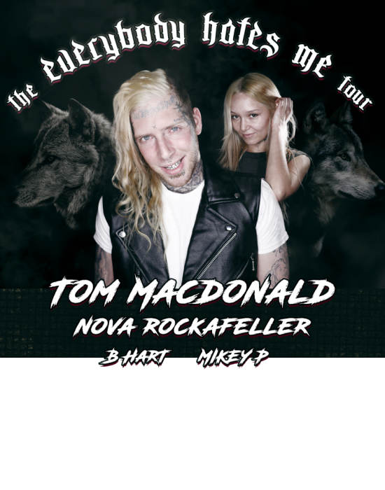 Tom Macdonald and Nova Rockafeller