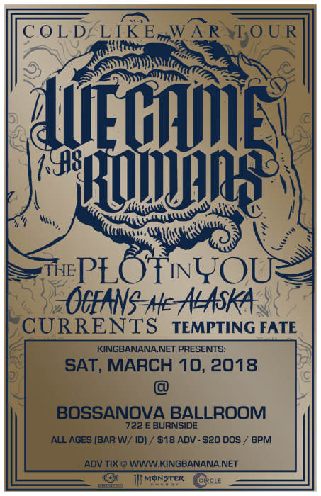 WE CAME AS ROMANS,
