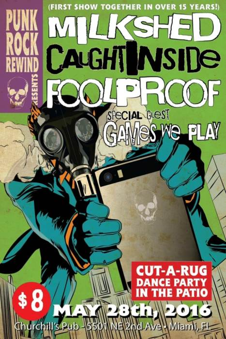 Foolproof, Caught Inside, Milkshed, Games We Play