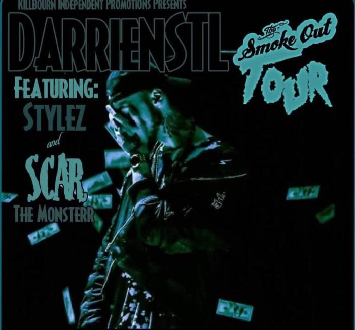 Darrein Safron Smoke Out Tour