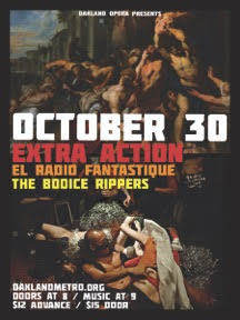 Extra-Action Marching Band, El Radio Fantastique, The Bodice Rippers