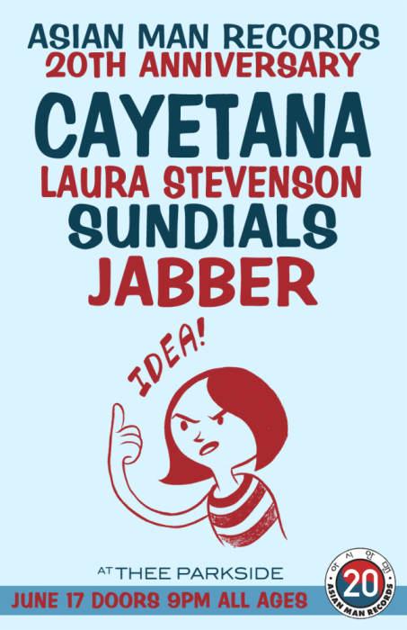 Cayetana, Laura Stevenson, Sundials, Jabber,
