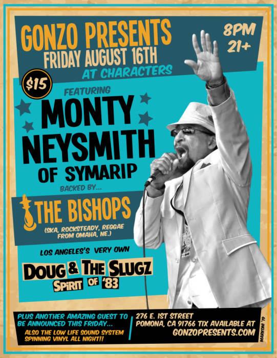 Monty Neysmith of Symarip w/The Bishops