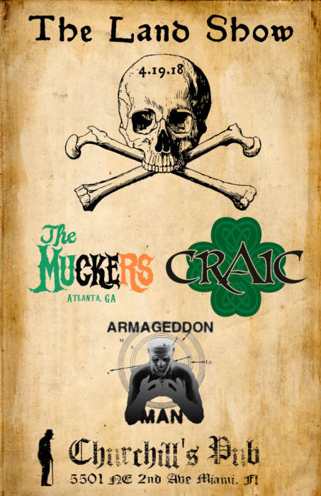 The Land Show - The Muckers, Craic, Armageddon Man