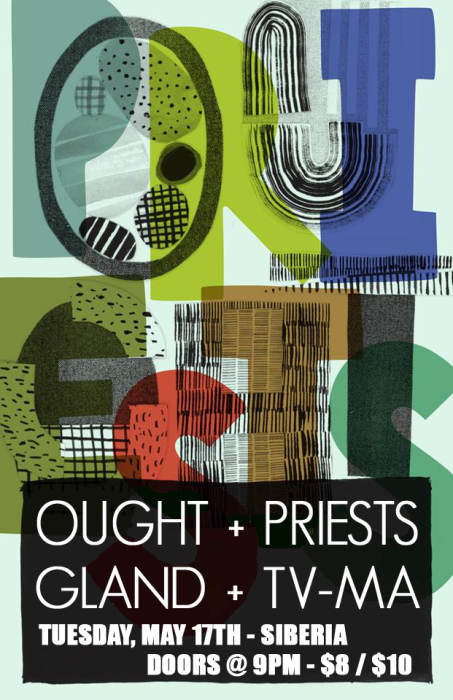 OUGHT | Priests | GLAND | TV-MA