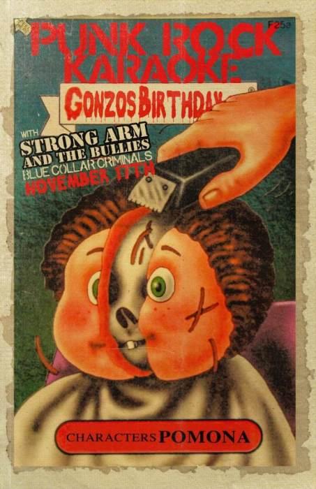 Gonzos 46th Bday Bash w/ Punk Rock Karaoke(Greg,Stan,Ed,Darrin)