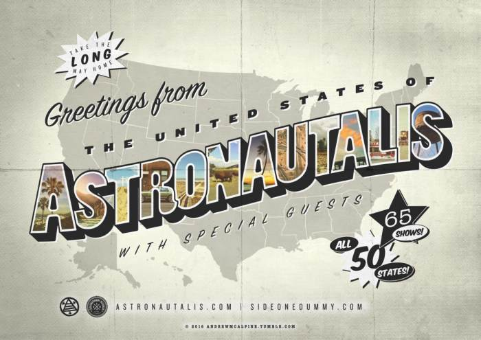 Astronautalis, Oxymorrons