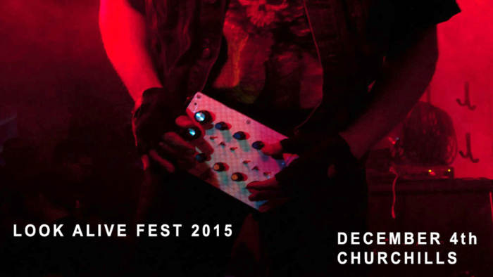 LOOK ALIVE FESTIVAL 2015 - Silver Apples, Wolf Eyes, Eartheater, Other Body, Treasure Teeth, Snakehole, Rat Bastard, Ava Mendoza