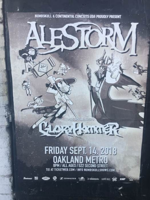 Alestorm, Gloryhammer