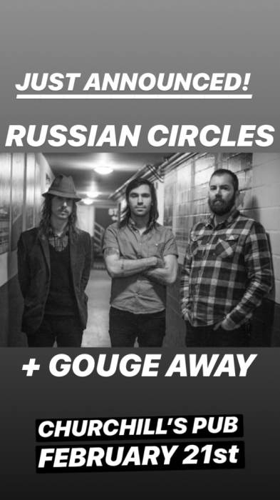 Russian Circles, Gouge Away